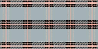 Pastel color tartan plaid seamless pattern vector