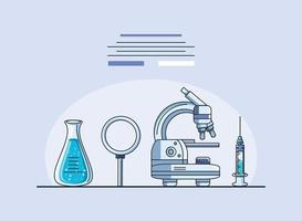 Laboratory items, coronavirus research