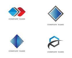 jeu d & # 39; icônes de symbole d & # 39; entreprise