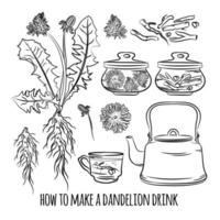 Dandelion Drink Set