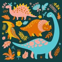 Dino Collection Pattern