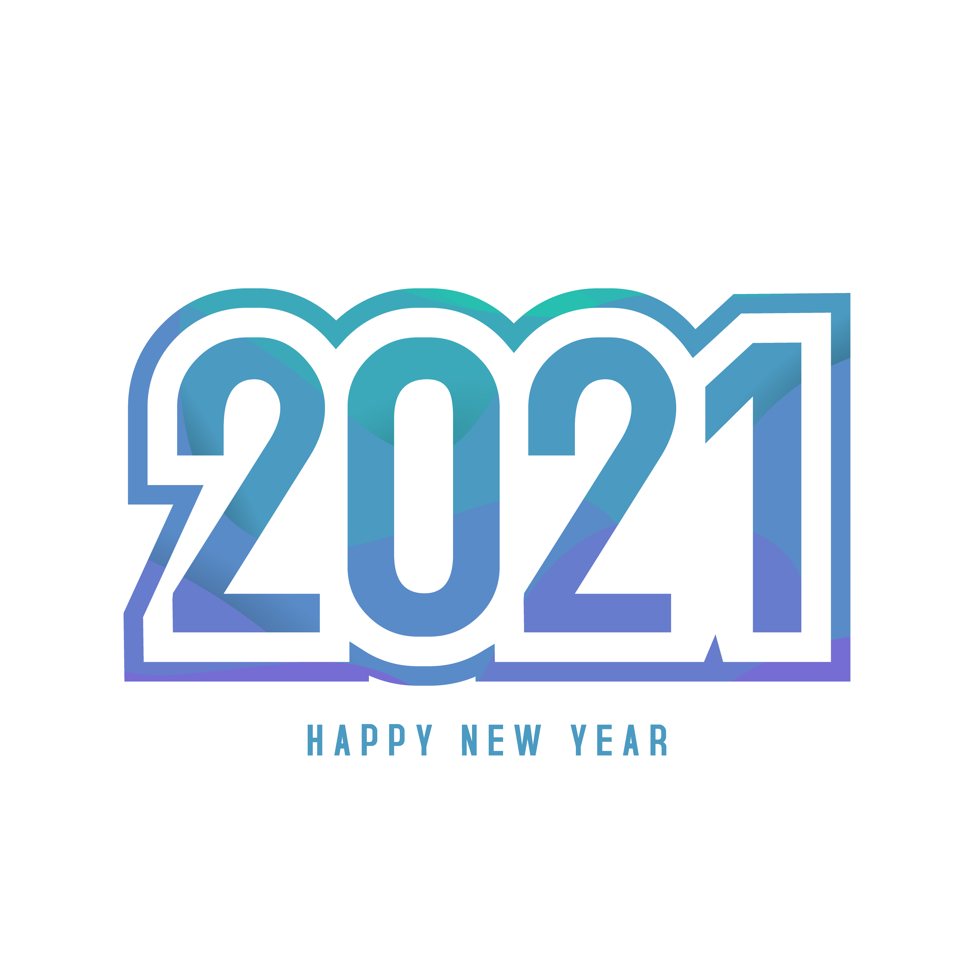 Happy New Year 2021 Greeting Card And Banner Template Download Free Vectors Clipart Graphics Vector Art