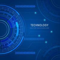 Technology futuristic geometric background vector