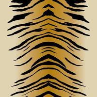 Tiger stripes pattern  vector