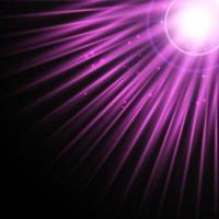 projeto do fundo dos raios solares com luzes cintilantes