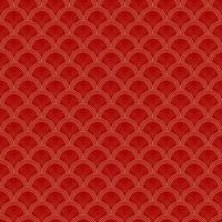 Simple and beautiful Chinese pattern vector