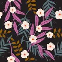 Chic flower pattern