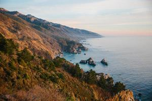 zonsondergang in big sur