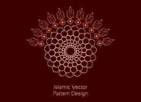 Modern Biomorphic Islamic Pattern