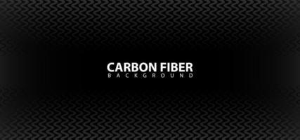 Black Carbon Fiber Design Background Template