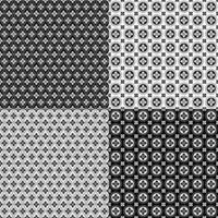 patrones geométricos inconsútiles retro