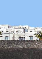 appartments with palm tree in Playa Blanca