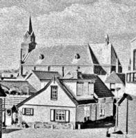 village scene photo