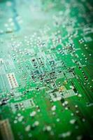 closeup of electronic board background photo