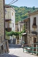 Alleyway. Valsinni. Basilicata. Italy.