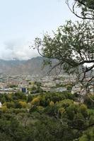 lhasa stadsgezicht