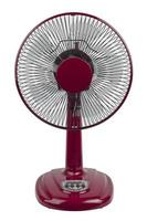 Red electric fan