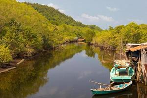 fishing village on the river, Phu Quoc