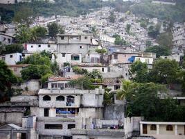 favelas en haití foto
