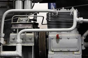 partes mecánicas del motor viejo