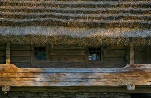 The old village house photo