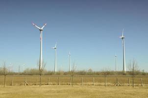 Power generating windmills in Austria photo