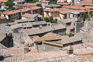 panoramisch uitzicht op bolsena. lazio. Italië.