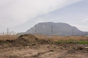 montaña en el territorio de stavropol. foto