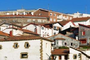 Casas de Puerto Viejo en Getxo, País Vasco, España