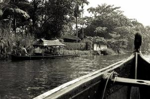 Exotic boat journey photo
