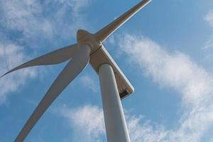 Wind turbines , Black Sea, Bulgaria