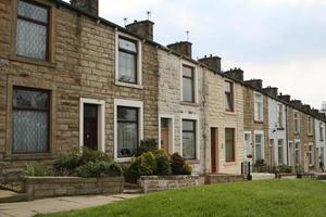 Traditional Terraced Homes. photo