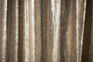 Gold sequin textile
