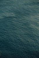 close-up do padrão do mar
