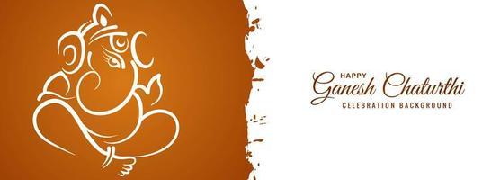 pincelada ganesh chaturthi utsav festival banner