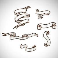 cintas diferentes ornamentales vintage