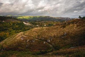 Countryside landscape scene