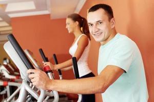 Gym training photo