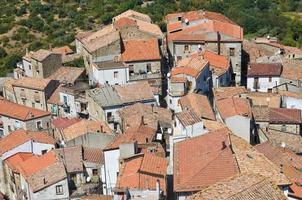 vista panorámica de valsinni. basilicata. Italia.