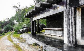 hot spring water natural