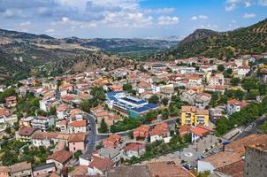 Panoramic view of Valsinni. Basilicata. Italy.