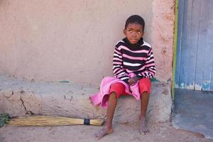 niño africano foto