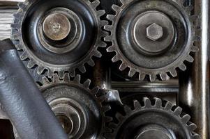 engranaje industrial foto