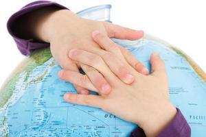 abraçando o mundo