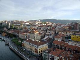 The town of Portugalete in Bilbao