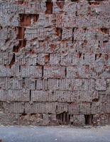 oude bakstenen muur textuur