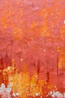 Texture de façade grunge rouge ciutadella de Minorque
