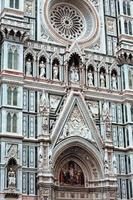 Florence cathedral façade detail