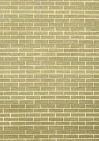 Closeup of yellow green brick wall as background or texture