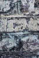viejo muro de ladrillo foto